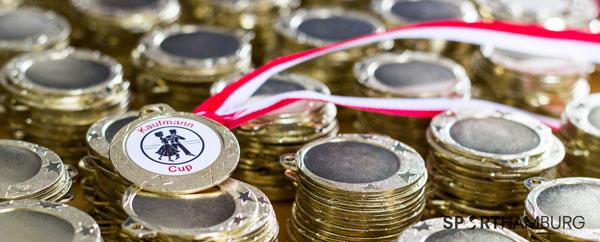 Medalje med label